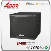 "Lane 18"" subwoofer speaker box LS - 618"