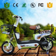 T China new product small folding electric bicycle/pocket electric bike with 48V500W motor LED lights