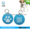 Silicone qr code id pet tags for dog Protect with Epoxy,id qr barcode dog tag