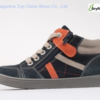Latest Fashion Design Suede Orange Sneaker