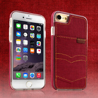 Ultra Slim Leather Dual Layers with ID Holder Card Slot Case for iPhone 7