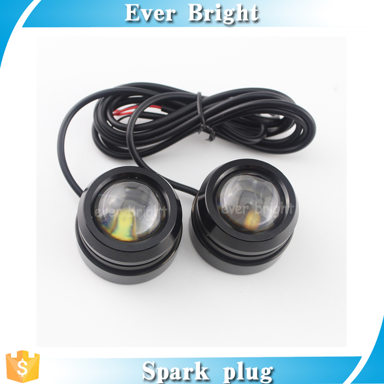 Super bright LENS day time running light Eagle Eye Light Rogue Brake Reverse Lamp 4SMD, drl daytime running light