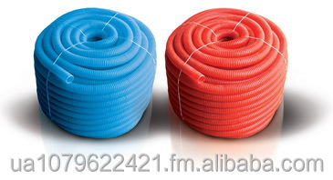 Crinkled hoses for plumbing traps