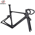 Dengfu Aero BB86 Racing Cycling Frame UD Matt carbon road bike frame 2017 DF05