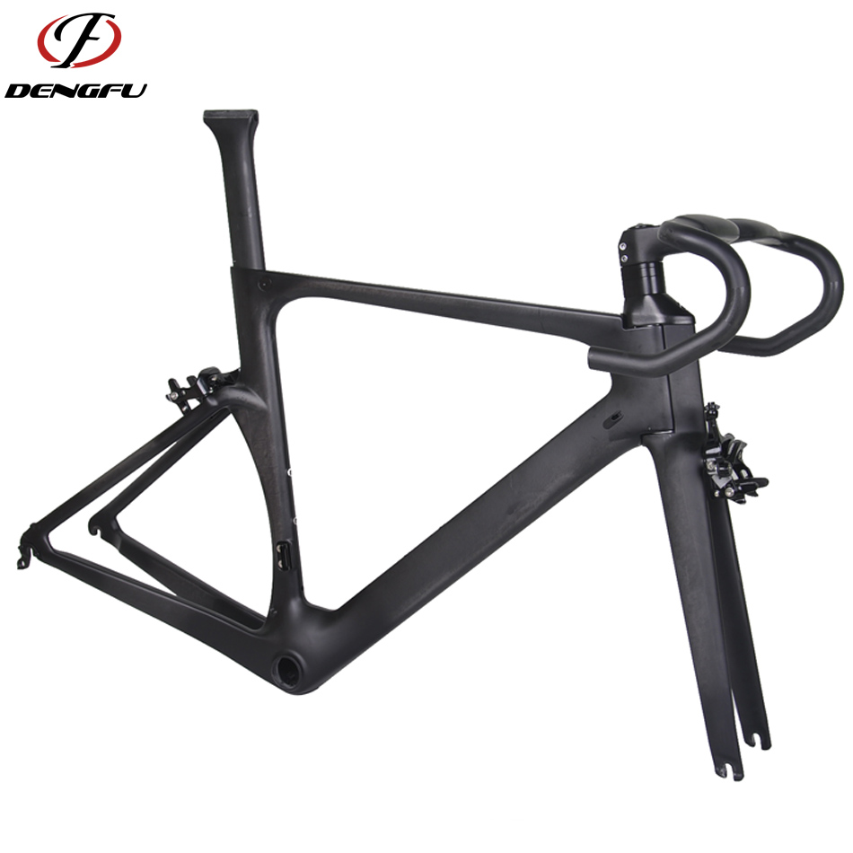 dengfu R05 BB86 UD matt oem 700c di2 aero cycling road frame carbon race bike frame