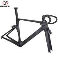 dengfu R05 BB86 UD matt oem 700c di2 aero carbon racing frame road bike