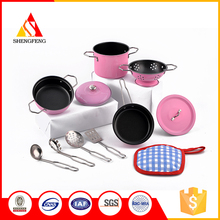 China pot and spoon kitchen sets supermarket toy kids