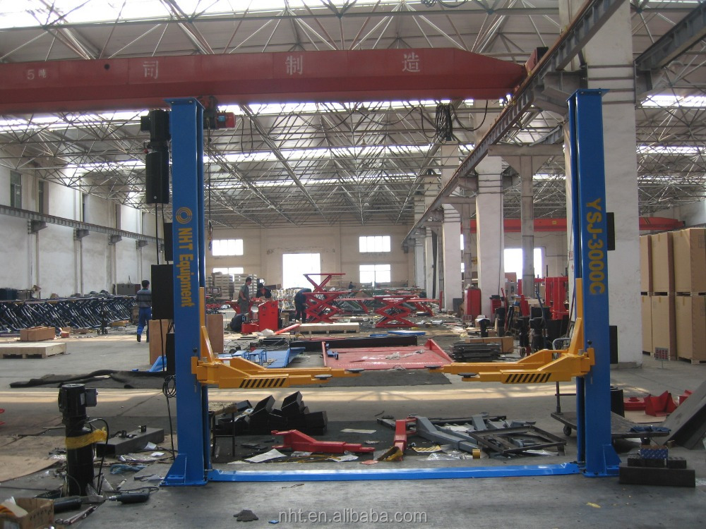 High Qualith Used Two Post Electric Lock Outdoor Car Lift 4.0 tons