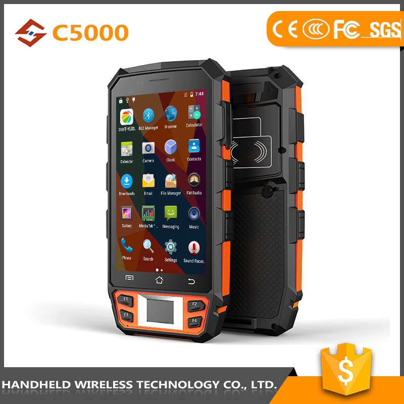 china great quality handheld C5000 rugged ip65 4g android target pda