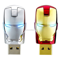 Iron man avenger usb, newest designs 16gb fancy avenger usb flash drive