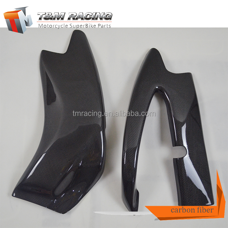 Carbon Fiber Side Fairings for Ducati