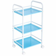 410D metal adjustable eco-friendly powder coated kitchen wire racks cart trolley