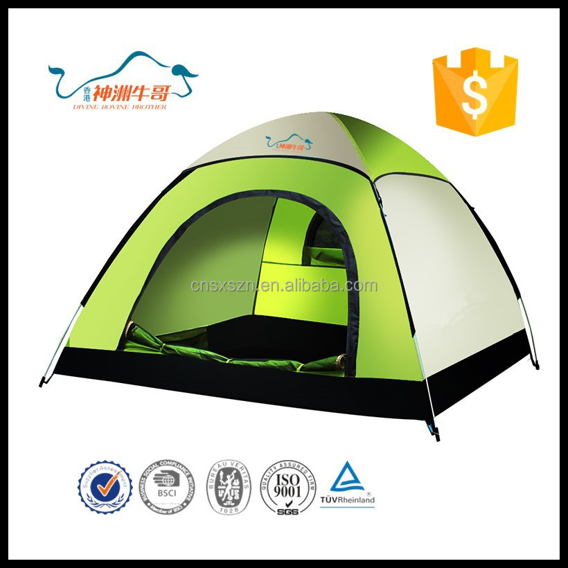 2015 Wholesale 200X200CM Tourist Equipment Atuomatical Quick-opening Hunting Outdoor Tent
