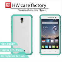 Samples Are Available High Quality Transparent Crystal Full Clear Mobile Phone Cases For Alcatel Pop 4