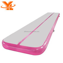 YL Cheap Pink Gymnastics Mats Folding Airtrack Home Edition
