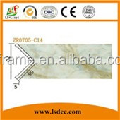 PVC Decoration Ceiling Panels Line Moulding For Interior Decoraiton