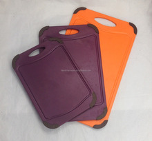 Best selling products 3 piece plastic cutting board set 4pcs cutting board 1221