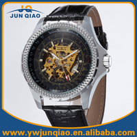 Luxury Brand Man Automatic Mechanical Skeleton Watch Winner