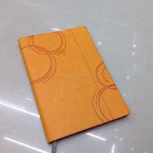 High quality soft leather planner writing book