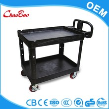 Large flat bed platform hand trolley