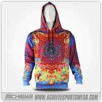 wholesale sublimatiom hooded sweat suit/ cheap plain hoodies