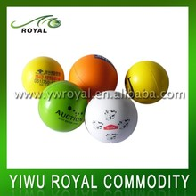 Advertising Printed 7cm Soft Foam PU Stress Ball Toy