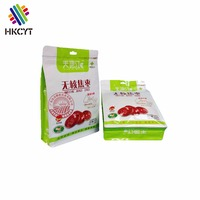 Gravure Multicolor Printing Flat Bottom Plastic Bag For Dry Food Packaging