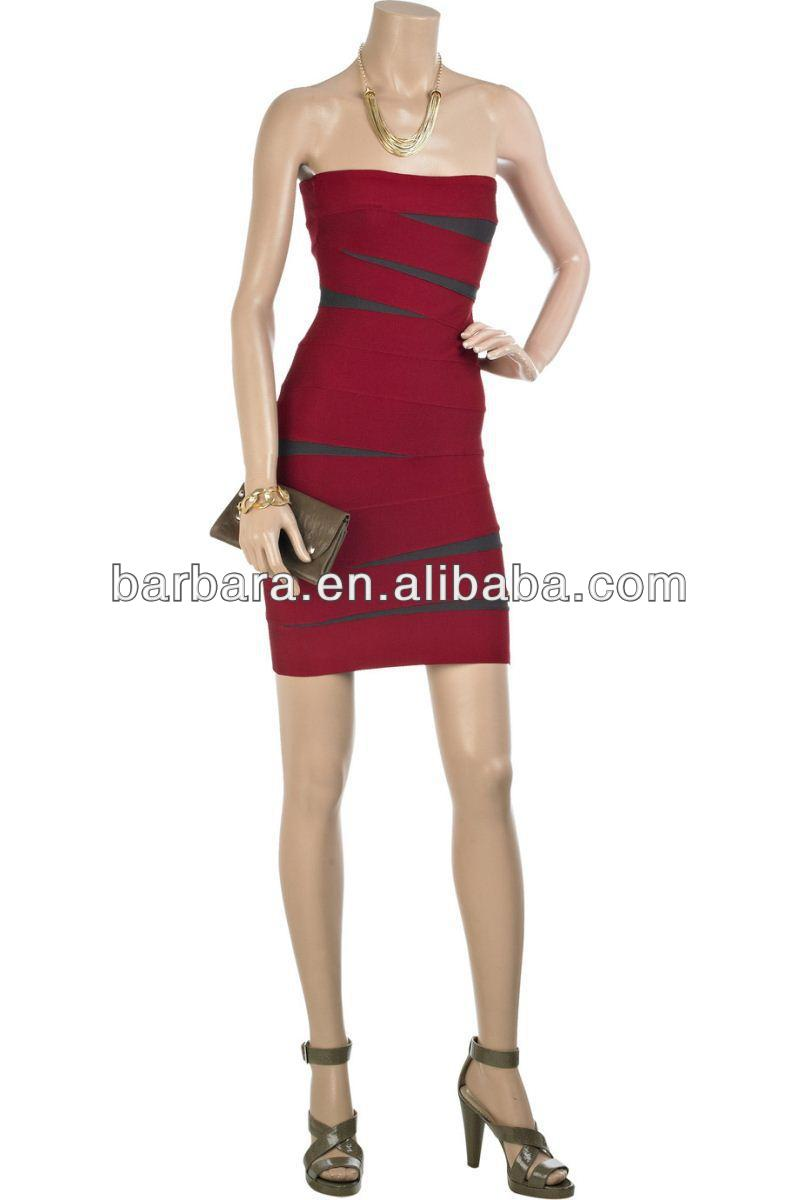 birthday party dress strapless evening dress H004