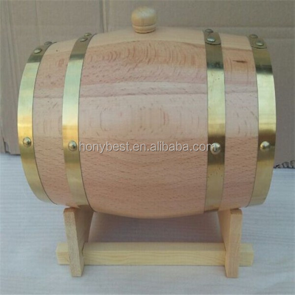 Empty Wooden Wine Barrel for 1.5L,3L,5L,10L,20L,225L-5.jpg