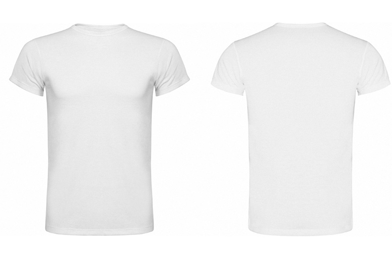 White and blank t-shirt
