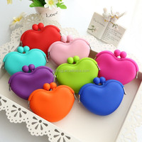 silicone 2016promotion squeeze coin purse/Candy Color Purse