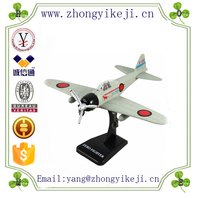 factory custom-made handmade carved fashion polyresin rc model airplane p-51