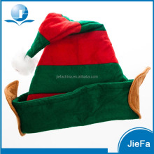 High quality cheap Christmas decorated christmas elf hat
