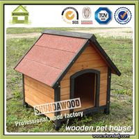SDD08 large wooden outside dog kennels for sale