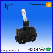 Heavy duty Momentary (ON)-OFF-(ON) Centre Off toggle switch