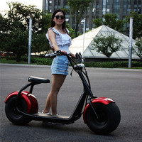 Shenzhen factory big wheel city coco motorcycle 125 cc 1000W electric motorcycle