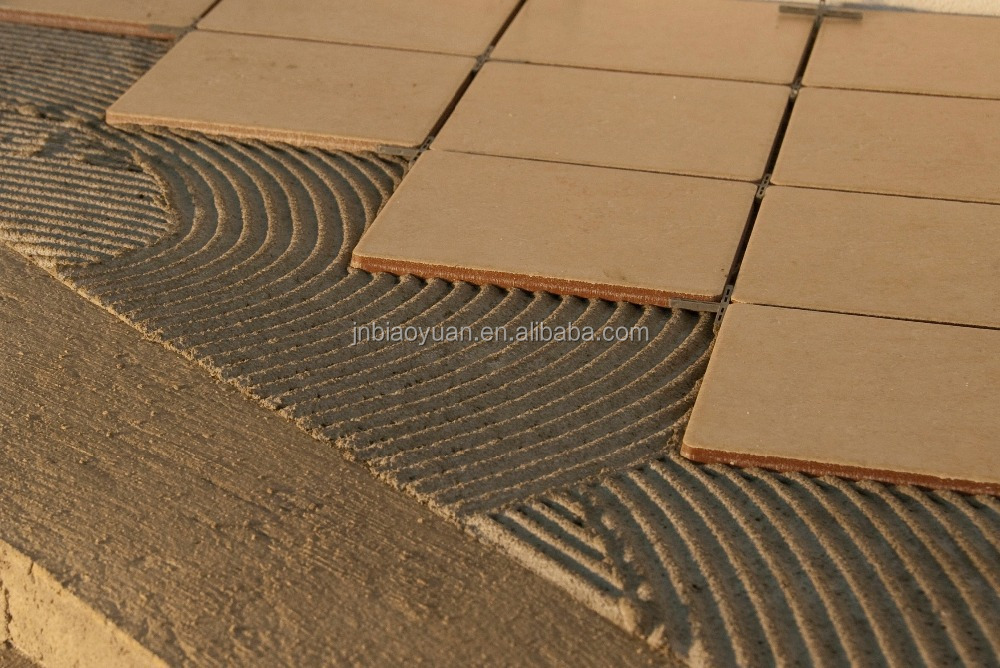 flexible tile adhesive and grout for swimming pools
