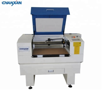 Chanxan co2 mini laser cutting machine with rotary