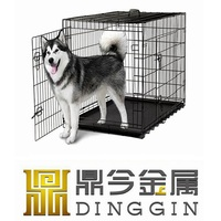 Iron dog house for pets