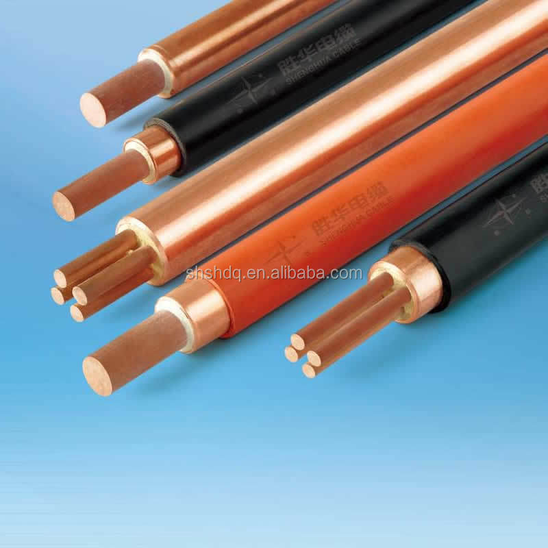 750v Bttz Copper Sheathed Mineral Insulated Cable With Bs 6387 Cwz ...