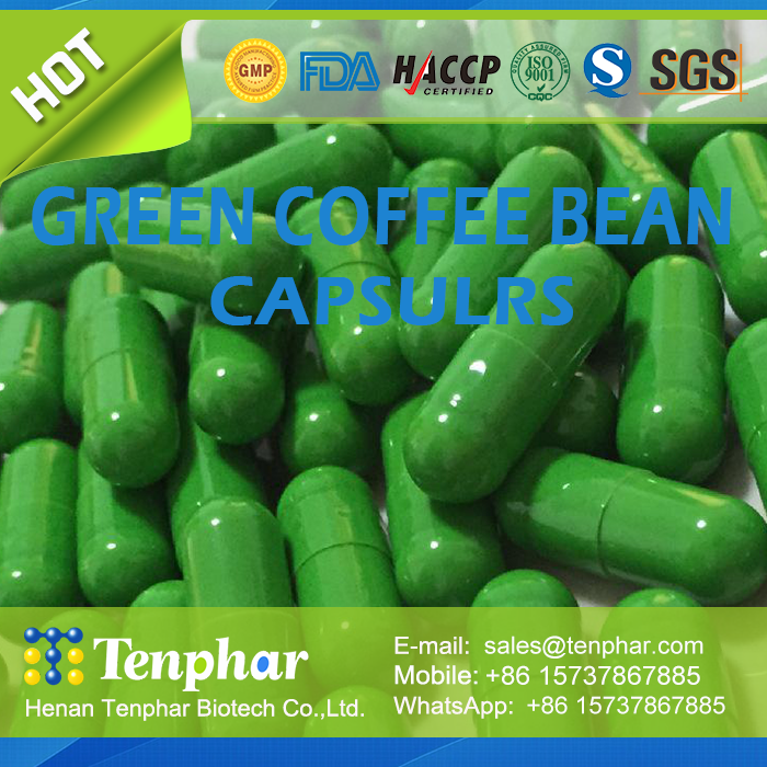 Natural Green Coffee Bean Super Slender Capsule