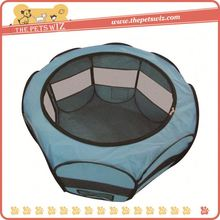 New products in 2016 plastic dog play fence ,p0wsu folding soft pet playpen