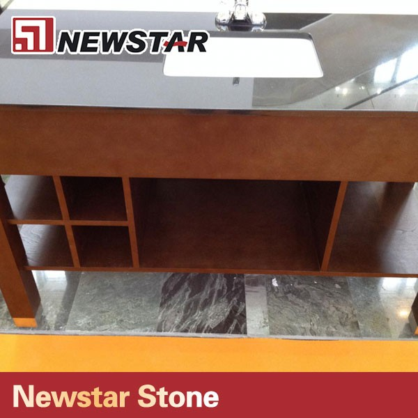 Newstar hotel vanity hotel bathroom vanity with natural granite top