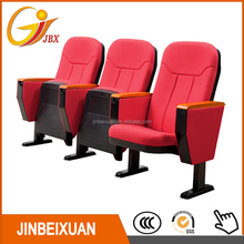 Portable Theater Seating with writing board auditorium chair HF-004