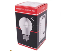 High quality paper cardboard box packaging lamp cup led bulb folding lamp light bulb storage box