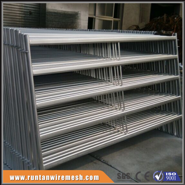 NEW Galvanized pipe livestock metal corral fence panels for horses