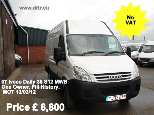 IVECO DAILY 35 S12 MWB closed box minibus for sale