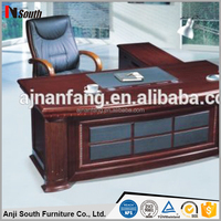 MDF material office desk NF-XSX-2 with ISO9001 2000, SGS, BV certificate