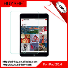 HUYSHE 0.3mm Toughened Glass screen Film Best Sell Screen Protector for iPad 2/3/4 in Stock