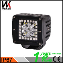 WEIKEN 12 Watt Working Led Lights halo ring angel eye 12v Offroad Auto Led Working Light For Car